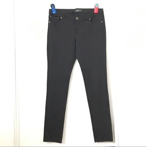 Roots Canada Black Stretchy Jeans.